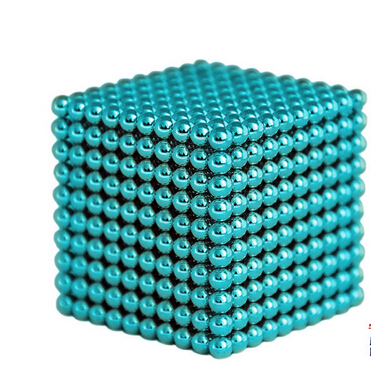 Magnetic Sphere Buckyballs Neocube 216pcs Ball 5mm Aquamarine