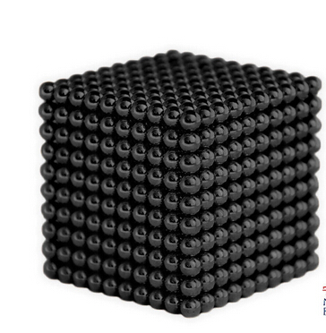 Magnetic Sphere Buckyballs Neocube 216pcs Ball 5mm Puzzle Black