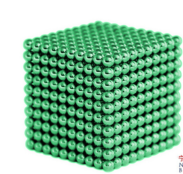 Magnetic BuckyBalls CyberCube 216pc Ball 5mm Puzzle Glow in Dark