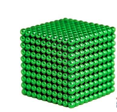 Magnetic Sphere Buckyballs Neocube 216pcs Ball 5mm Puzzle Green