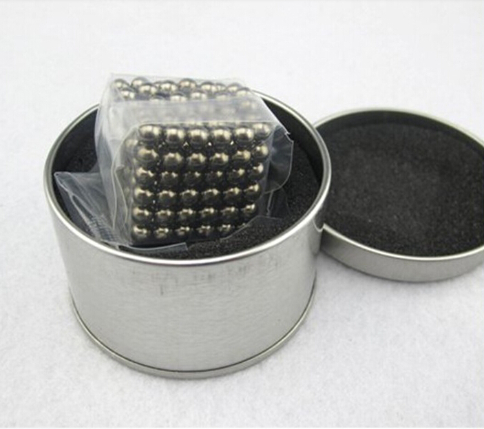 Magnetic Sphere Buckyballs Neocube 216pcs Ball 5mm Puzzle Nickel