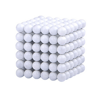 Magnetic Sphere Buckyballs Neocube 216pcs Ball 5mm Puzzle White